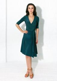 Klaudia wrap dress グリーン XS~XL